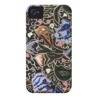 iphone 4/4s Fall mit einzigartigem Batik iPhone 4 Hüllen