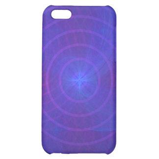 iPhone 4/4S Speck-Kasten: Konzentrisches Blau iPhone 5C Cover