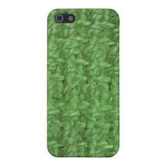 iPhone 4 Fall - Jutefaser - Rasen iPhone 5 Hülle