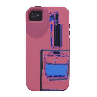 iPhone 4 Vibe-Fallrosa mit Parfümflasche Case-Mate iPhone 4 Case