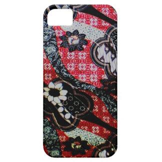 iphone 5/5s Fall mit einzigartigem Batik Etui Fürs iPhone 5
