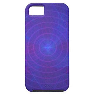 iPhone 5 Case-Mate stark: Konzentrisches Blau