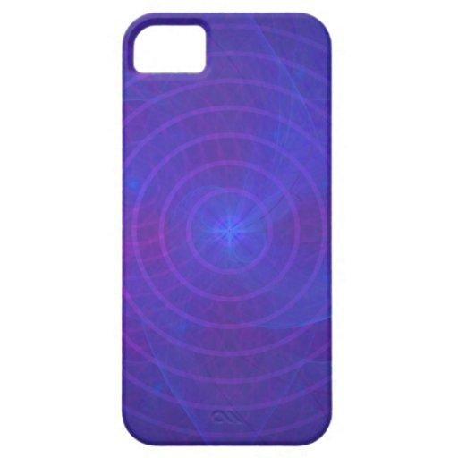 iPhone 5 CaseMate kaum dort: Konzentrisches Blau Etui Fürs iPhone 5