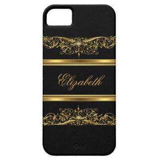 iPhone 5 elegantes nobles Gold mit Blumen Etui Fürs iPhone 5