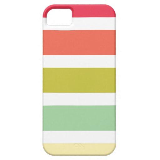 iPhone 5 Fall mit bunten Streifen iPhone 5 Schutzhülle