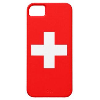 IPhone 5 Fall mit Flagge von der Schweiz Hülle Fürs iPhone 5