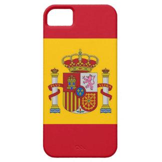 IPhone 5 Fall mit Flagge von Spanien iPhone 5 Case