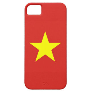 IPhone 5 Fall mit Flagge von Vietnam Barely There iPhone 5 Hülle