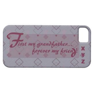 iphone 5 Großvater fertigen es w/his Initialen Schutzhülle Fürs iPhone 5
