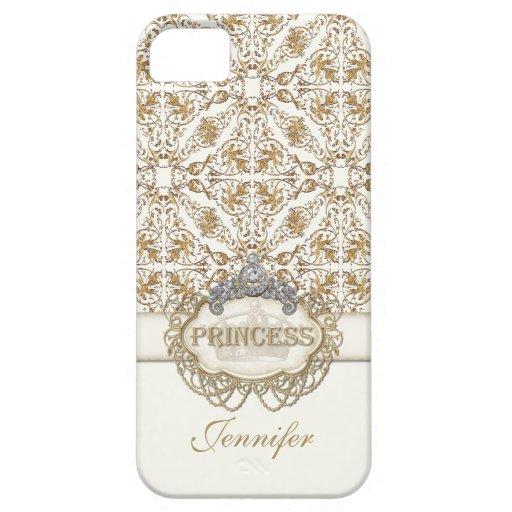 IPhone 5 Prinzessin Jewel Bling Crown Personalized iPhone 5 Schutzhüllen