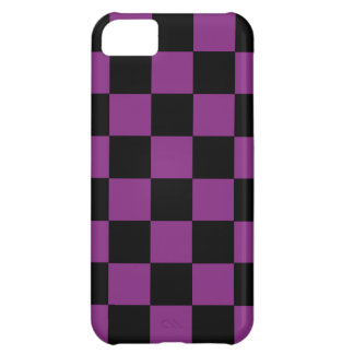iPhone 5 Retro Achtzigerjahre lila iPhone 5C Cover