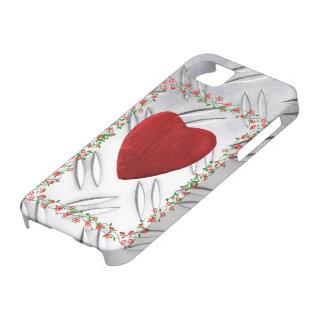 iPhone 5 Rosenrahmen mit Herz Schutzhülle Fürs iPhone 5