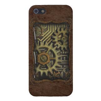 iPhone 5-Steam Rust Technics Vers01 iPhone 5 Cover
