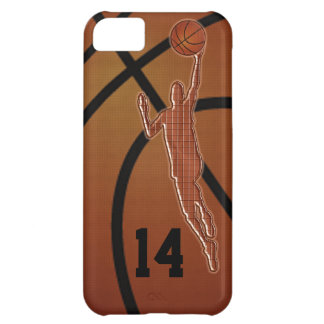 iPhone 5C Basketball-Hüllen mit IHRER ZAHL iPhone 5C Hülle