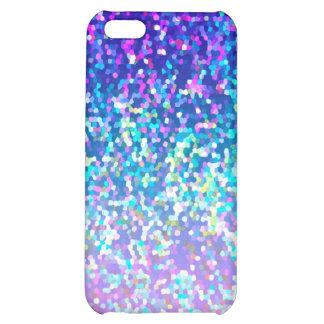 iPhone 5C Fall-Speck-Glitter-Grafik-Hintergrund iPhone 5C Cover