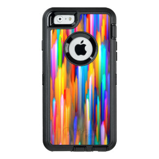 iPhone 6/6s buntes digitales Kunstspritzen Falles OtterBox iPhone 6/6s Hülle