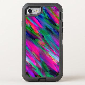 iPhone 6/6s buntes digitales Kunstspritzen OtterBox Defender iPhone 8/7 Hülle