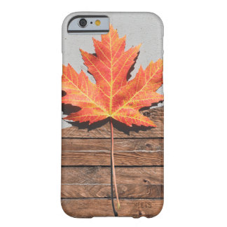 """iPhone 6/6S Fall """"Blatt und Holz"""" Heevs™ Barely There iPhone 6 Hülle"""