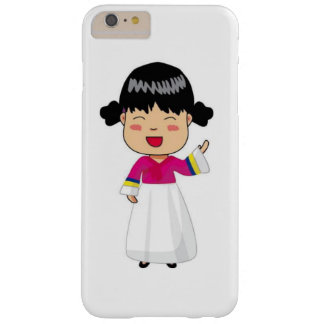 iPhone 6/6S Fall vom Koreaner Chibi in Hanbok Barely There iPhone 6 Plus Hülle
