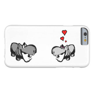 iPhone 6/6s, kaum dort - Flusspferd in der Liebe Barely There iPhone 6 Hülle