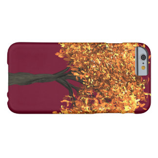 iPhone 6/6s, kaum dort Telefon-Kasten-Herbst-Rot Barely There iPhone 6 Hülle