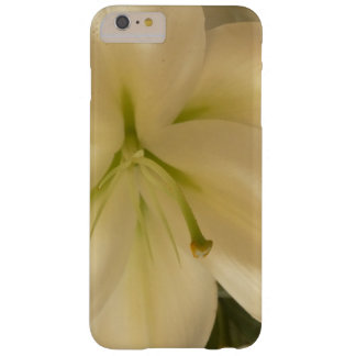iPhone 6/6s plus, kaum dort weiße Lillum Blume Barely There iPhone 6 Plus Hülle