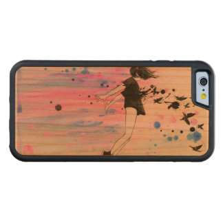 iPhone 6/6s Stoßkirschholz-Kasten Bumper iPhone 6 Hülle Kirsche