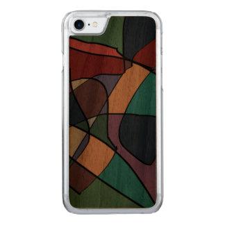 iPhone 6/6s Stoßkirschhölzerner Kasten durch Kel Carved iPhone 8/7 Hülle