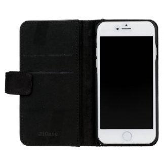 IPhone 6/6s Strand-Kiesel-Stein-Abdeckung iPhone 6/6s Geldbeutel Hülle