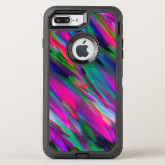 iPhone 6 buntes digitales Kunstplusc$spritzen OtterBox Defender iPhone 8 Plus/7 Plus Hülle