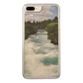 iPhone 6 dünnes Ahorn-Plusholz Carved iPhone 8 Plus/7 Plus Hülle