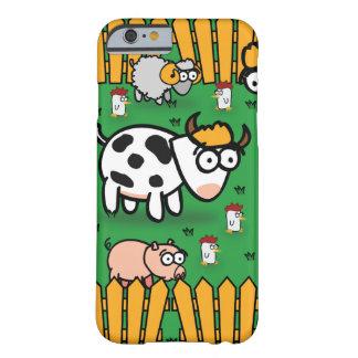 iPhone 6 Fall auf der lustigen Farm der Tiere Barely There iPhone 6 Hülle