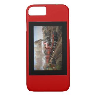 Iphone 6 Fall mit einem Dampf-Motor und -zug iPhone 8/7 Hülle
