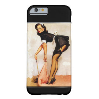 iPhone 6 FallVintages PinUp-Mädchen Barely There iPhone 6 Hülle