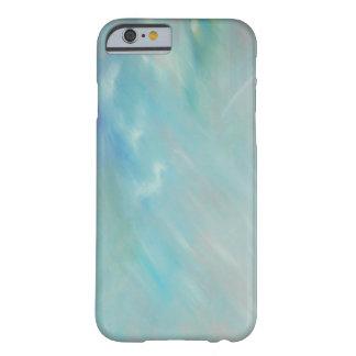 iPhone 6 malerei des abstrakten Aqua aquamariner Barely There iPhone 6 Hülle