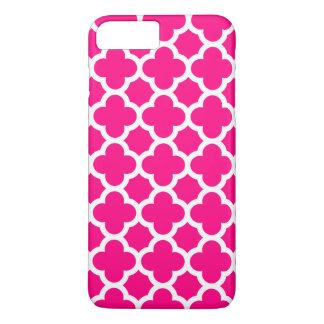 iPhone 6 Plusfall - Pink Quatrefoil iPhone 8 Plus/7 Plus Hülle