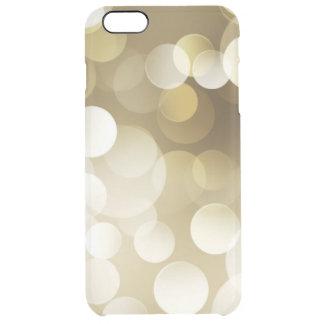 iPhone 7 6/6s plus transparenten Goldkasten Durchsichtige iPhone 6 Plus Hülle