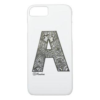 Iphone 7/8 Gehäuse mit Alphabetentwurf iPhone 8/7 Hülle