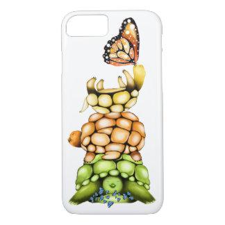 iPhone 7 Abdeckung, niedliche Turtles&Butterflies iPhone 8/7 Hülle