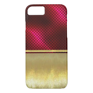 iPhone 7 dünner Muschel-Goldentwurfs-Fall iPhone 8/7 Hülle