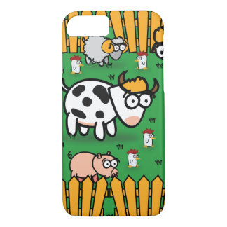 iPhone 7 Fall auf der lustigen Farm der Tiere iPhone 8/7 Hülle