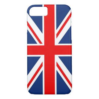 iPhone 7 Fall coole Vorlage Großbritannien-Flagge iPhone 8/7 Hülle