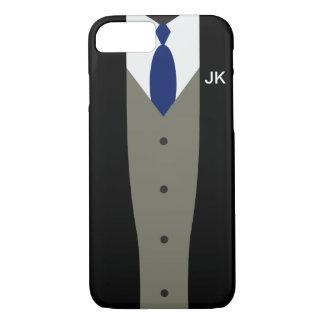 iPhone 7 Fall der Anzugs-Kasten nobler Männer iPhone 8/7 Hülle