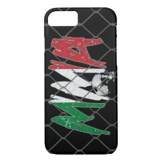 iPhone 7 Fall Italien-MIXED MARTIAL ARTS Schwarzes iPhone 8/7 Hülle