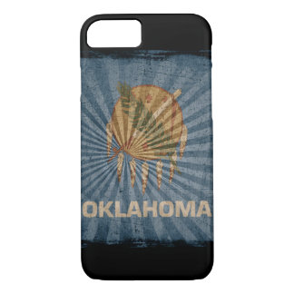 iPhone 7 Fall mit Staatsflagge von Oklahoma iPhone 8/7 Hülle