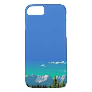 iPhone 7 Fall - Pixel-Berge iPhone 8/7 Hülle