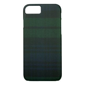 iPhone 7 Fall schwarze Uhrmoderner Tartan-Kasten iPhone 7 Hülle