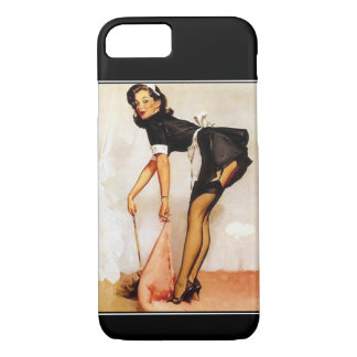 iPhone 7 FallVintages PinUp-Mädchen iPhone 7 Hülle