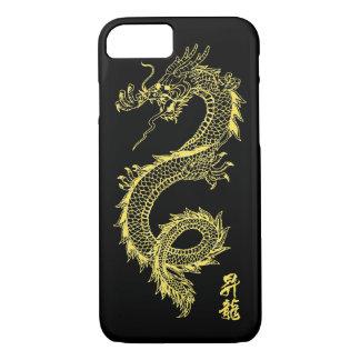 iPhone 7 goldener Drache-Telefon-Kasten iPhone 8/7 Hülle