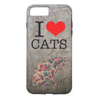 iPhone 7 Katze der Liebe I Fall, iPhone 8 Plus/7 Plus Hülle
